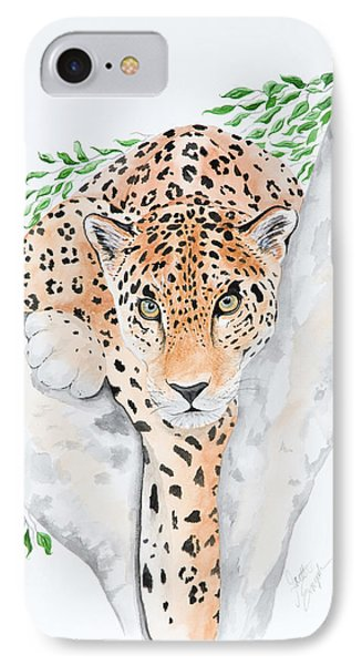 Stalker In The Trees Phone Case by Joette Snyder