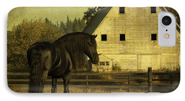 Stallion At Rest D1535 Phone Case by Wes and Dotty Weber