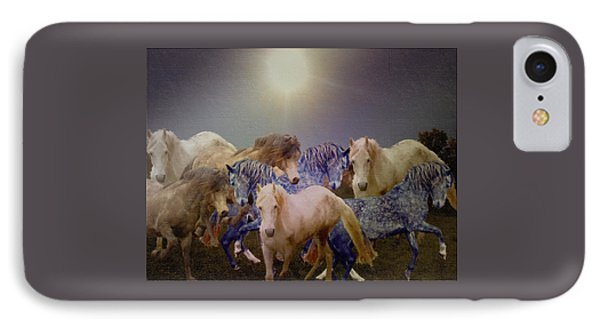 Stallions On Stage As Vivaldi's Spring Plays IPhone Case