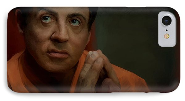 Stallone Phone Case by Mark Gallegos