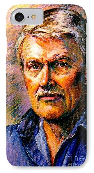 Stan Esson Self Portrait IPhone Case by Stan Esson