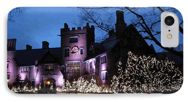 Stan Hywet Hall And Gardens Christmas  Phone Case by Joan  Minchak