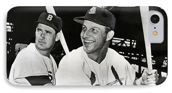 Stan Musial And Ted Williams IPhone Case
