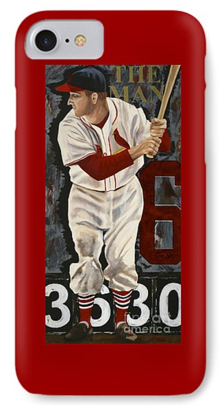 Stan Musial Phone Case by Terry  Hester