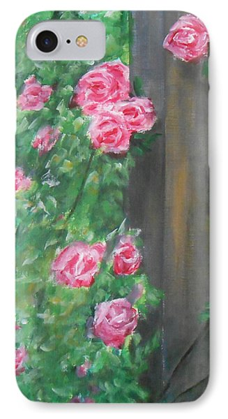 IPhone Case featuring the painting Stand By Me by Jane  See
