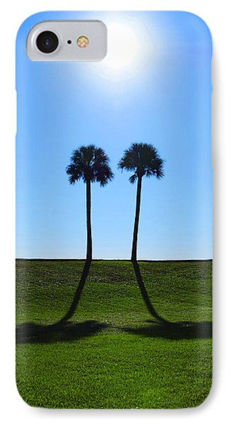 Stand By Me - Palm Tree Art By Sharon Cummings IPhone Case