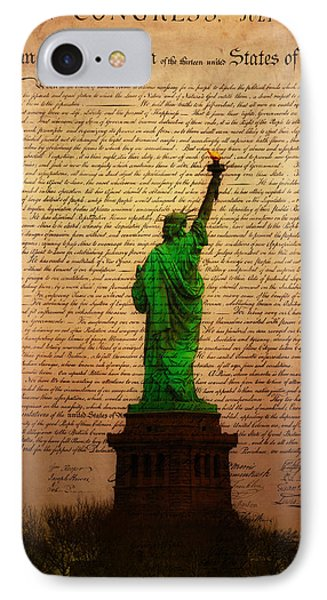 Stand Up For Freedom Phone Case by Bill Cannon