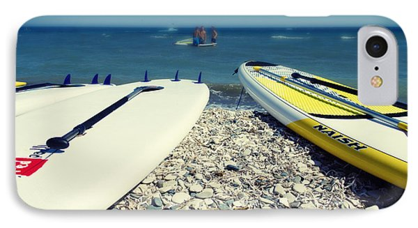 Stand Up Paddle Boards IPhone Case by Stelios Kleanthous