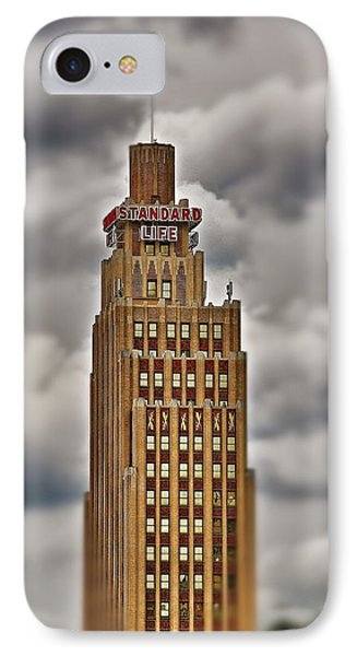 IPhone Case featuring the photograph Standard Life Building 2 by Jim Albritton