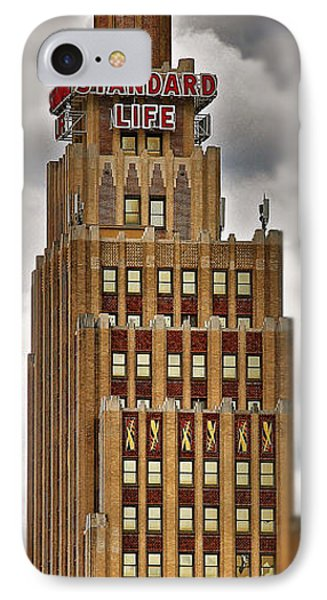 IPhone Case featuring the photograph Standard Life Building by Jim Albritton