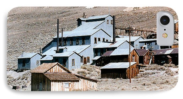 Standard Mill At Bodie Panorama Phone Case by Barbara Snyder