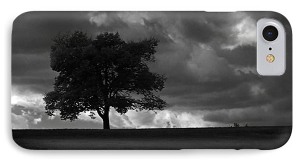 Standing Alone IPhone Case by Lena Wilhite