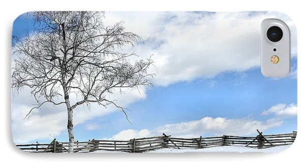 Standing Alone Phone Case by Todd Hostetter