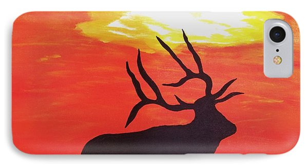 IPhone Case featuring the painting Standing Guard by Matthew Griswold