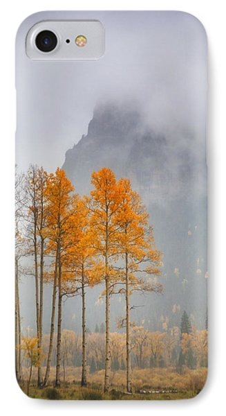 Standing In The Rain IPhone Case by Morris  McClung