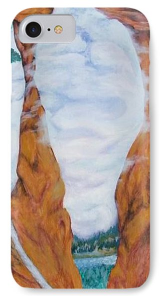 Standing Rock Dragon IPhone Case