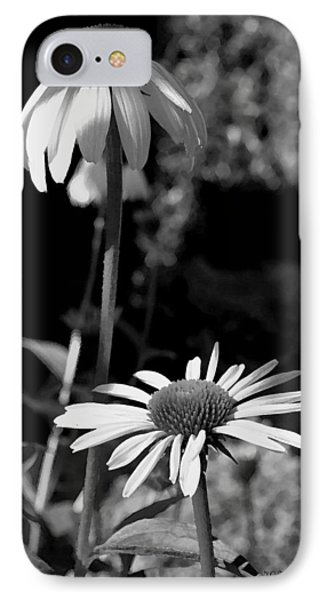 IPhone Case featuring the photograph Coneflowers Standing Tall   by James C Thomas
