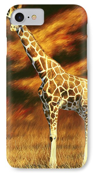 Standing Tall IPhone Case by Lucie Bilodeau