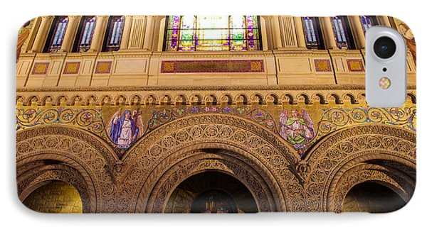 Stanford University Memorial Church Close Up IPhone Case by Scott McGuire