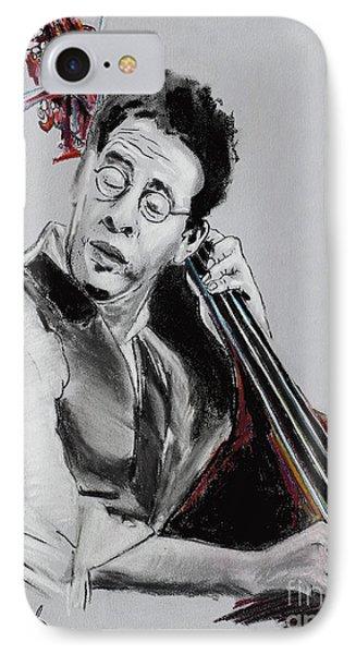 Stanley Clarke Phone Case by Melanie D