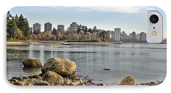 Stanley Park Beach IPhone Case