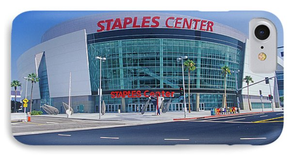 Staples Center, Home To The Nbas Los IPhone Case