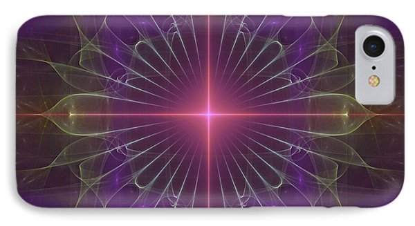 IPhone Case featuring the digital art Star 1 by Ursula Freer