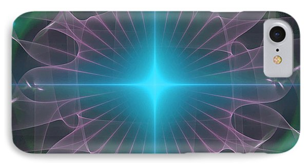 IPhone Case featuring the digital art Star 2 by Ursula Freer