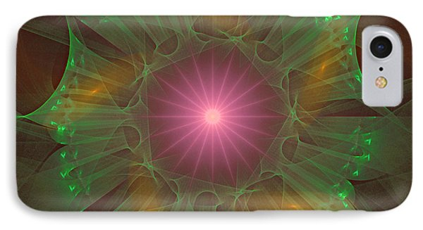 IPhone Case featuring the digital art Star 6 by Ursula Freer