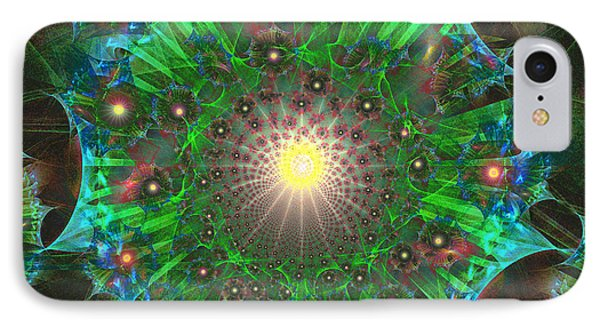 IPhone Case featuring the digital art Star 9 by Ursula Freer