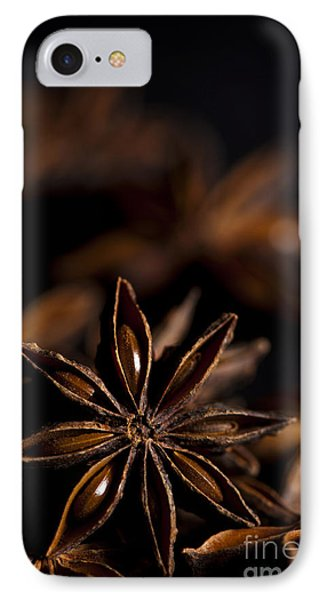 Star Anise Study Phone Case by Anne Gilbert