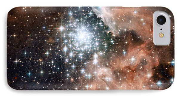 Star Cluster And Nebula IPhone Case by Sebastian Musial