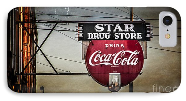 Star Drug Store 2 Phone Case by Perry Webster