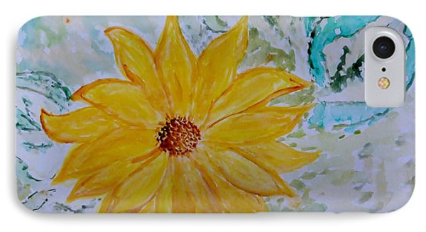 Star Flower Phone Case by Sonali Gangane