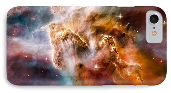 Star-forming Region In The Carina Nebula - Detail 1 IPhone Case by Marco Oliveira