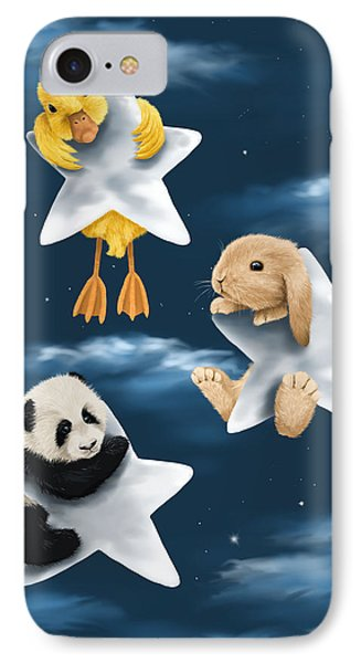 Star Games IPhone Case by Veronica Minozzi