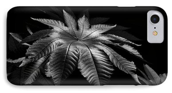 Star Leaf IPhone Case by Lorenzo Cassina