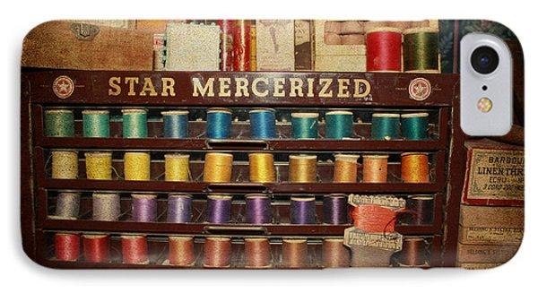 Star Mercerized Thread Display Phone Case by Janice Rae Pariza