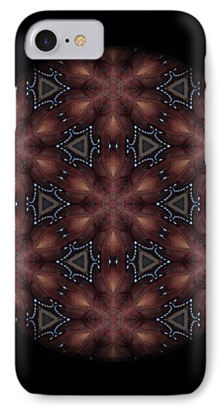 Star Octopus Mandala Phone Case by Karen Buford
