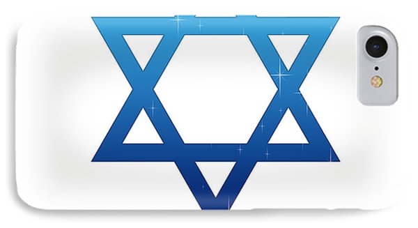 Star Of David IPhone Case by Aged Pixel