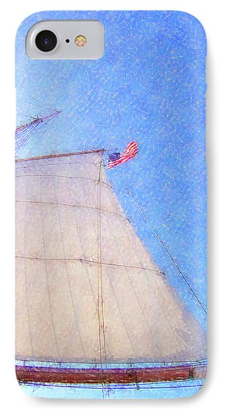 Star Of India. Flag And Sail Phone Case by Ben and Raisa Gertsberg