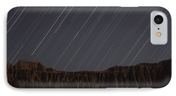 Star Trails Above Martians Valley Phone Case by Amin Jamshidi