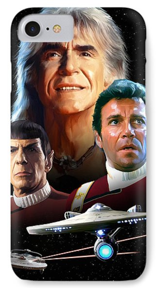 Star Trek II - The Wrath Of Khan IPhone Case by Paul Tagliamonte