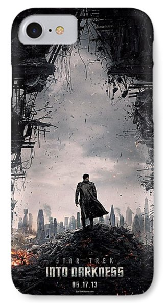 Star Trek Into Darkness  Phone Case by Movie Poster Prints