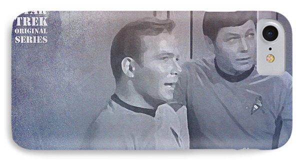 Star Trek Kirk And Mccoy IPhone Case