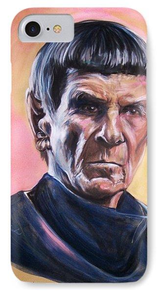 Star Trek Old Spock  IPhone Case by Martha Suhocke