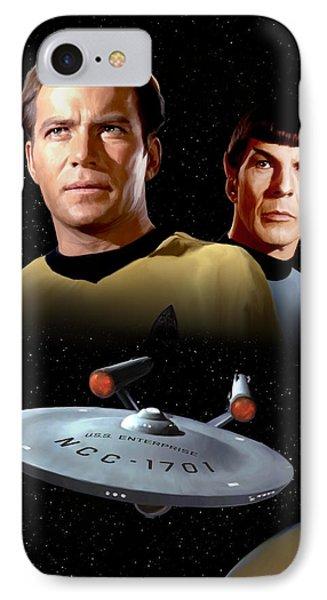 Star Trek - The Original Series IPhone Case by Paul Tagliamonte