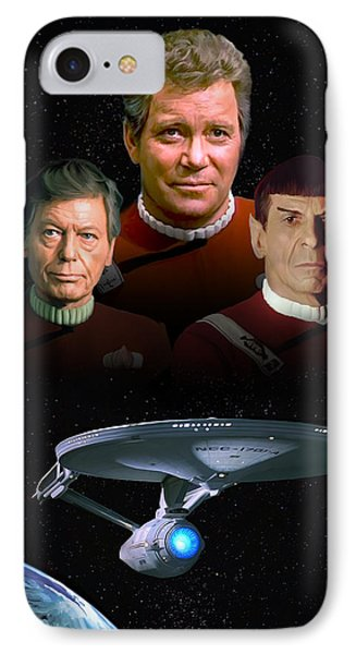 Star Trek - The Undiscovered Country IPhone Case by Paul Tagliamonte