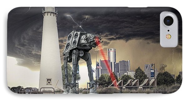 Star Wars All Terrain Armored Transport IPhone Case by Nicholas  Grunas