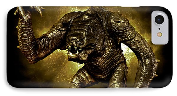 Star Wars Rancor Monster IPhone Case by Nicholas  Grunas